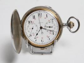 Montre chrono euroographe Zénith acier