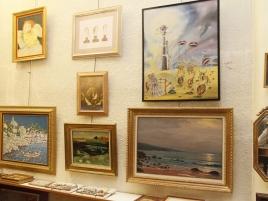 Salle des ventes (19 photo-tableaux)