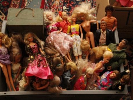 BARBIE poupées