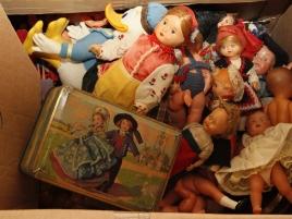 poupées Salle des ventes